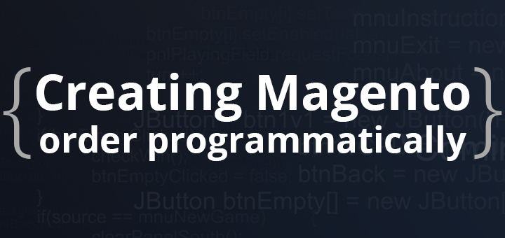Creating Magento order programmatically and charging saved credit card.